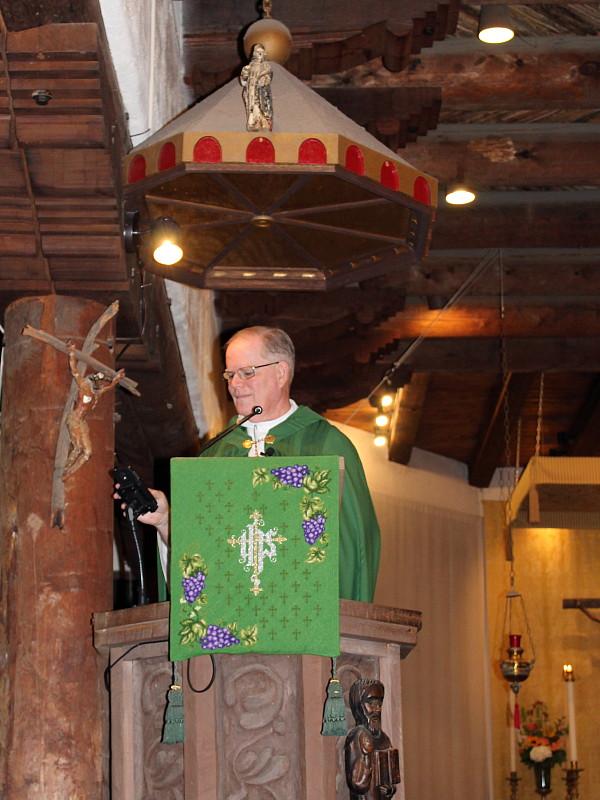 Father John Smith's Farewell Sermon at St. Michael's