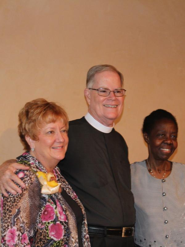 Terri Smith, Father John Smith and Proscovia King
