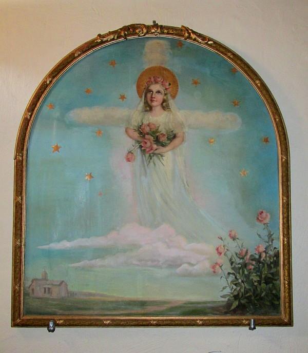Painting of Saint Thérèse of Lisieux