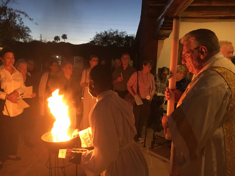 Easter Vigil, March 2016