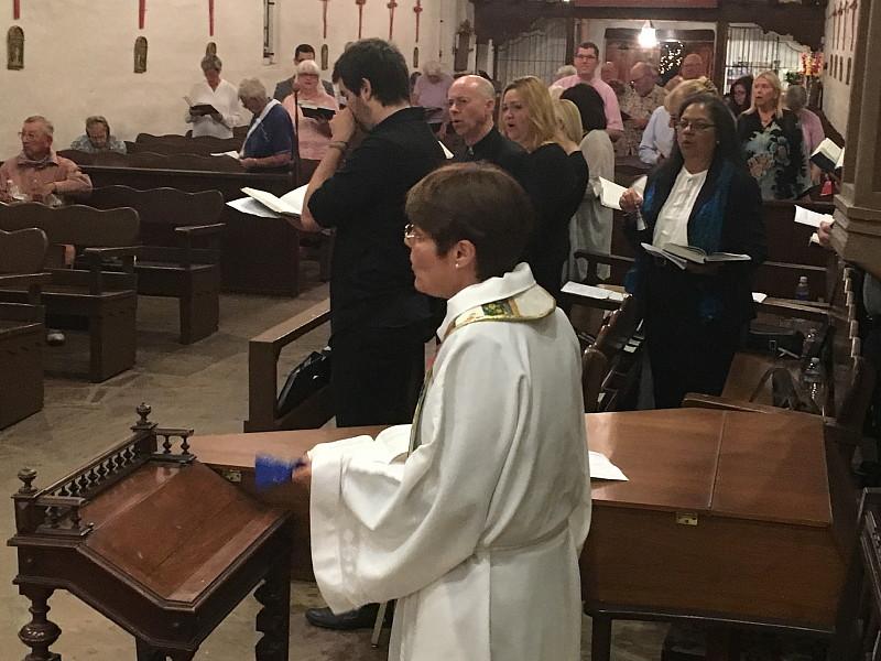 Ringing the Bells - Easter Vigil, March 2016