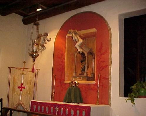 Cherubs over St. Joseph's Altar