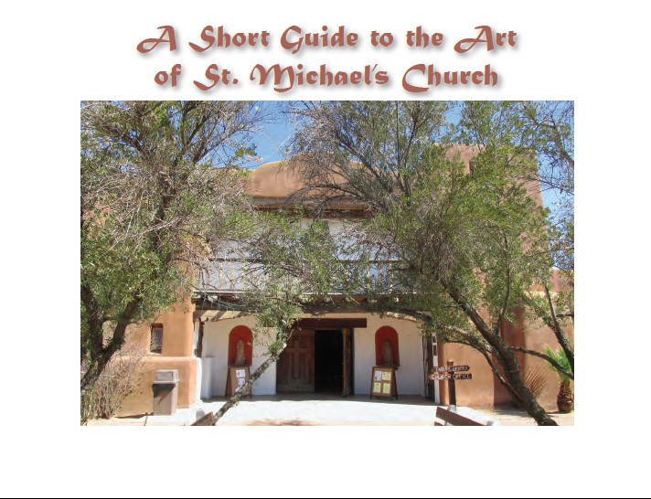 Art of St. Michael's cover