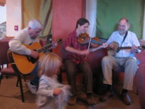 Music at Jimmye Hillman's Book Launch