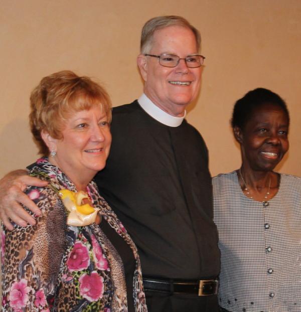 Fr. John Smith, Terri Smith and Proscovia King