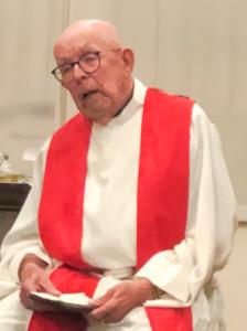 The Rev. Canon W. Barton Kendrick.