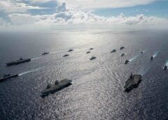 UK's First Carrier Continues Long Deployment in South China Sea