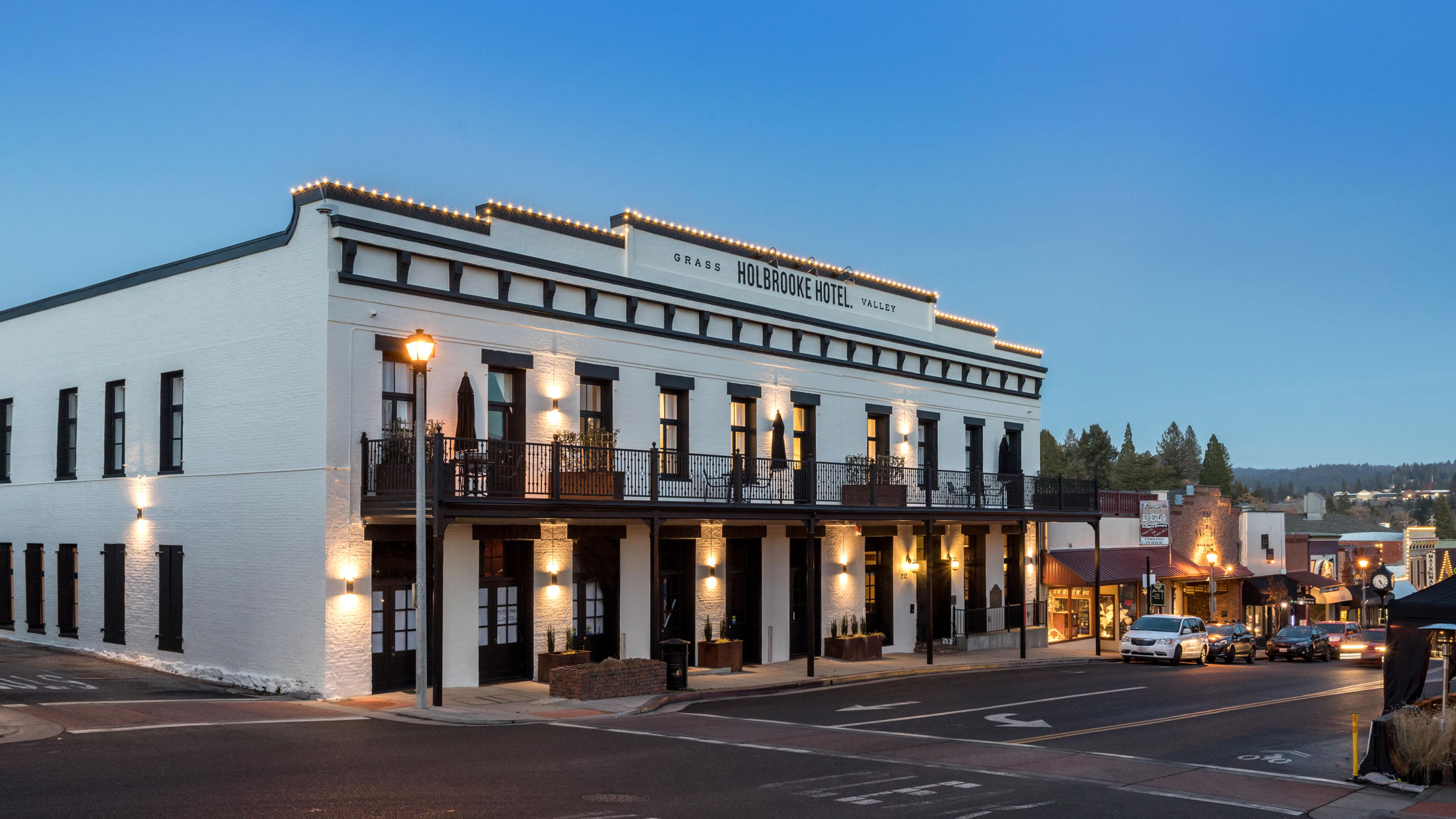 Holbrooke Hotel, Grass Valley CA