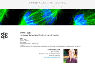 responsive WEB DESIGN - Grand Rapids MI-BAMM 2017 4th Annual Boston Area Mitosis and Meiosis Meeting