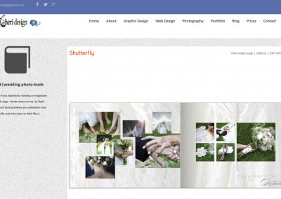 Responsive WordPress WEBSITE design - Grand Rapids MI-SCREENSHOT| photo book page