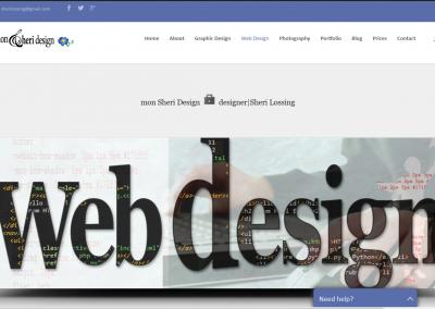 Responsive WordPress WEBSITE design - Grand Rapids MI-SCREENSHOT| web design page - WordPress blog website design
