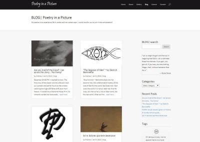 SCREENSHOT| blog page - WordPress blog website design