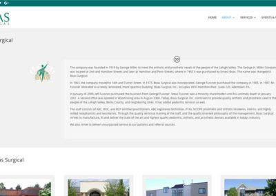Responsive WordPress WEBSITE design - Grand Rapids MI-SCREENSHOT| about page