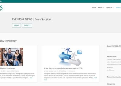Responsive WordPress WEBSITE design - Grand Rapids MI-SCREENSHOT| blog page