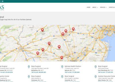 Responsive WordPress WEBSITE design - Grand Rapids MI-SCREENSHOT| maps page