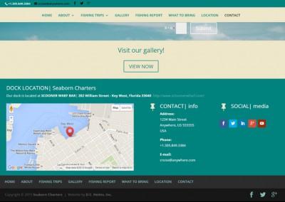 Responsive WordPress WEBSITE design - Grand Rapids MI-SCREENSHOT| contact page