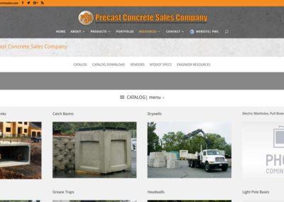 Responsive WordPress WEBSITE design - Grand Rapids MI-Precast Concrete Sales | RESOURCES
