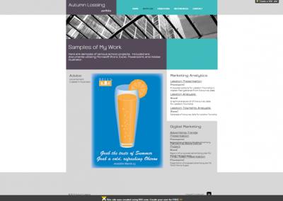 website: portfolio (wix.com) |SAMPLES
