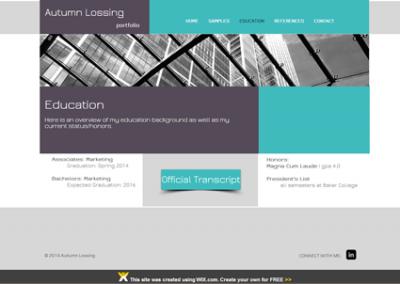 website: portfolio (wix.com) |RESUME