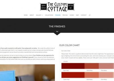 Responsive WordPress WEBSITE design - Grand Rapids MI-SCREENSHOT| finishes page