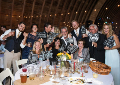Event Photography - Grand Rapids, MI-'comment blurb props' for wedding guest pics at tables