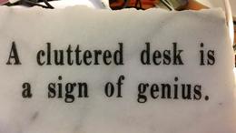 Cluttered Desk-My Struggle With Balance - Sheri Lossing - mon Sheri Design BLOG - Web Design-Graphic Design-Photography