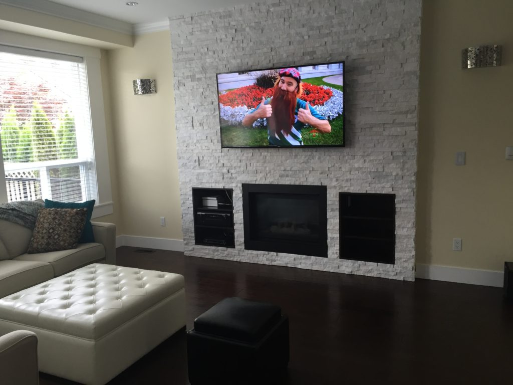 Residential TV Mounting