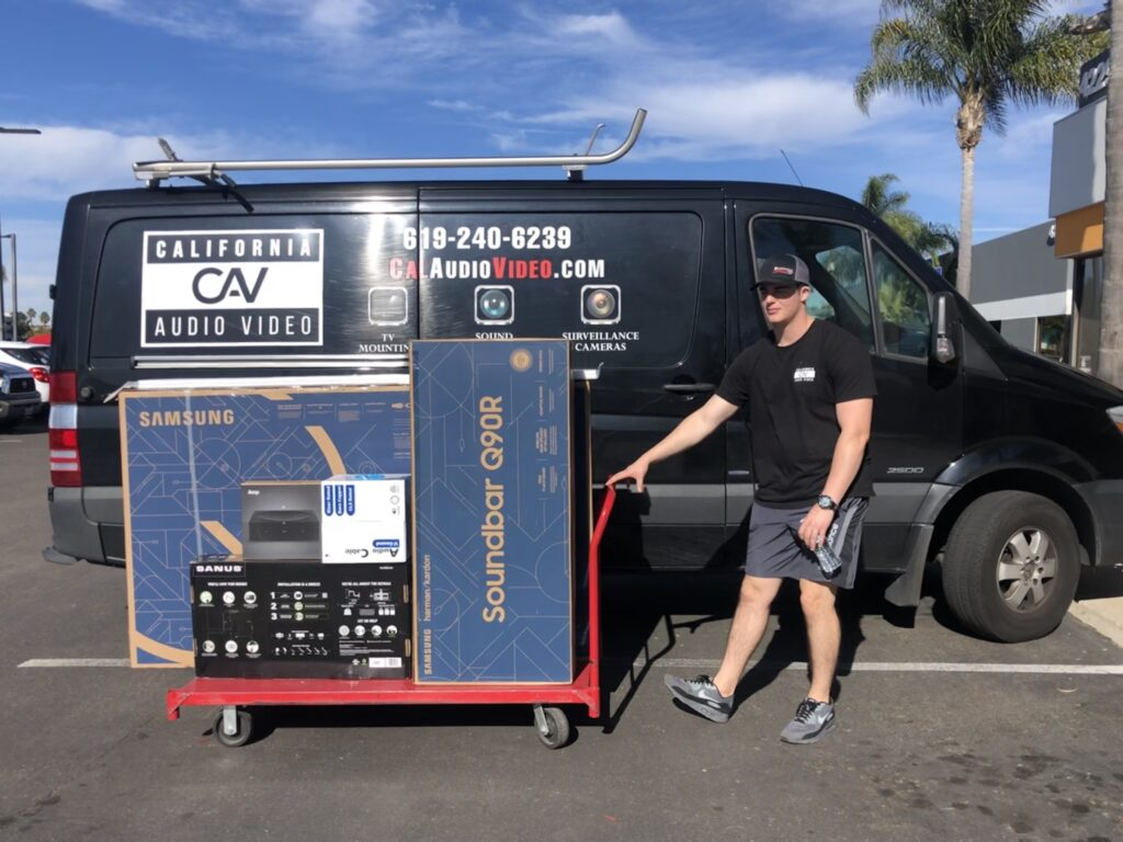 Complimentary TV delivery San Diego