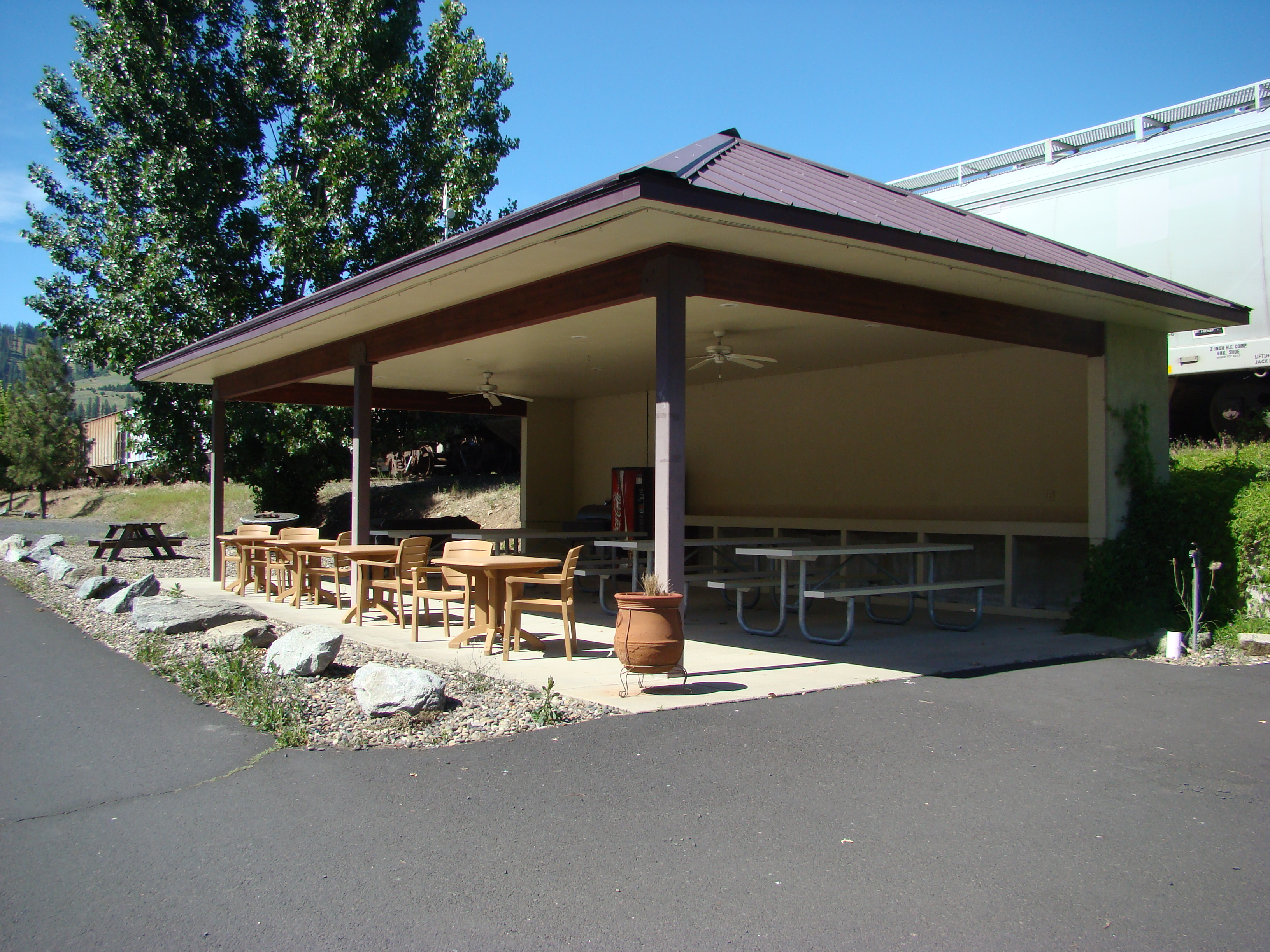 Pavillion Day Rental Rates & Camper Storage Now Available!