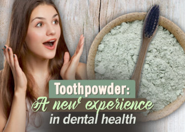 Toothpowder: A new experience in dental health