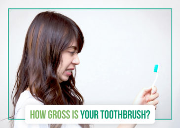 How gross is your toothbrush?