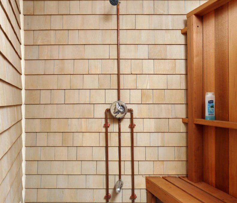 3 Easy Steps to Winterize Your Outdoor Shower