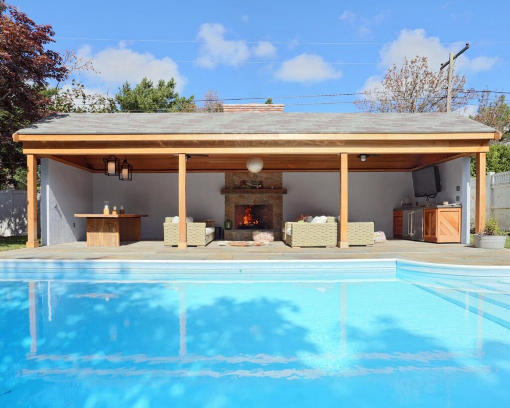 Pool House Cabana cape cod