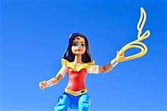 Superwomen getting into action