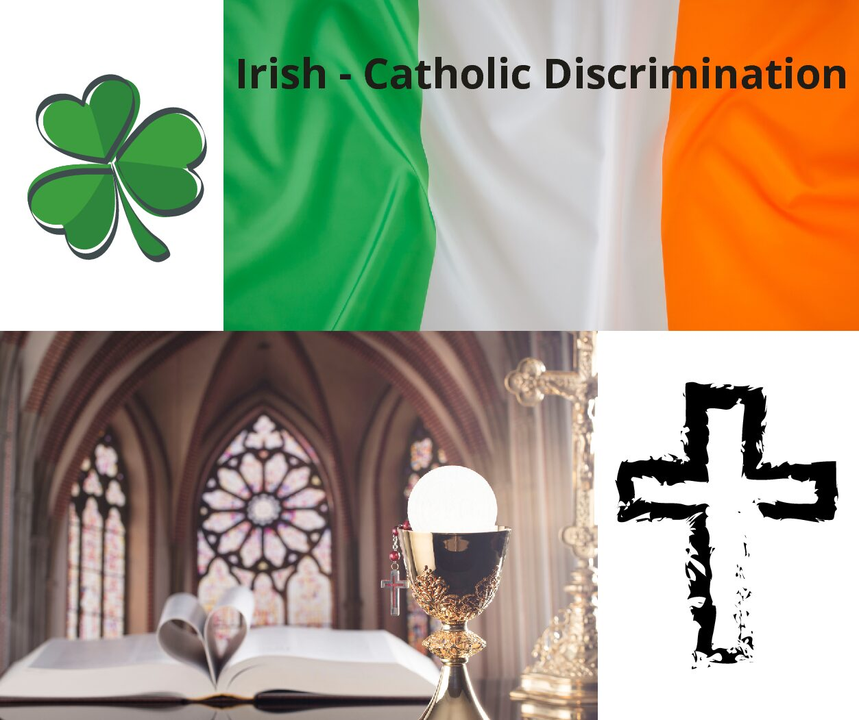 A discrimination story about  Irish-Catholics