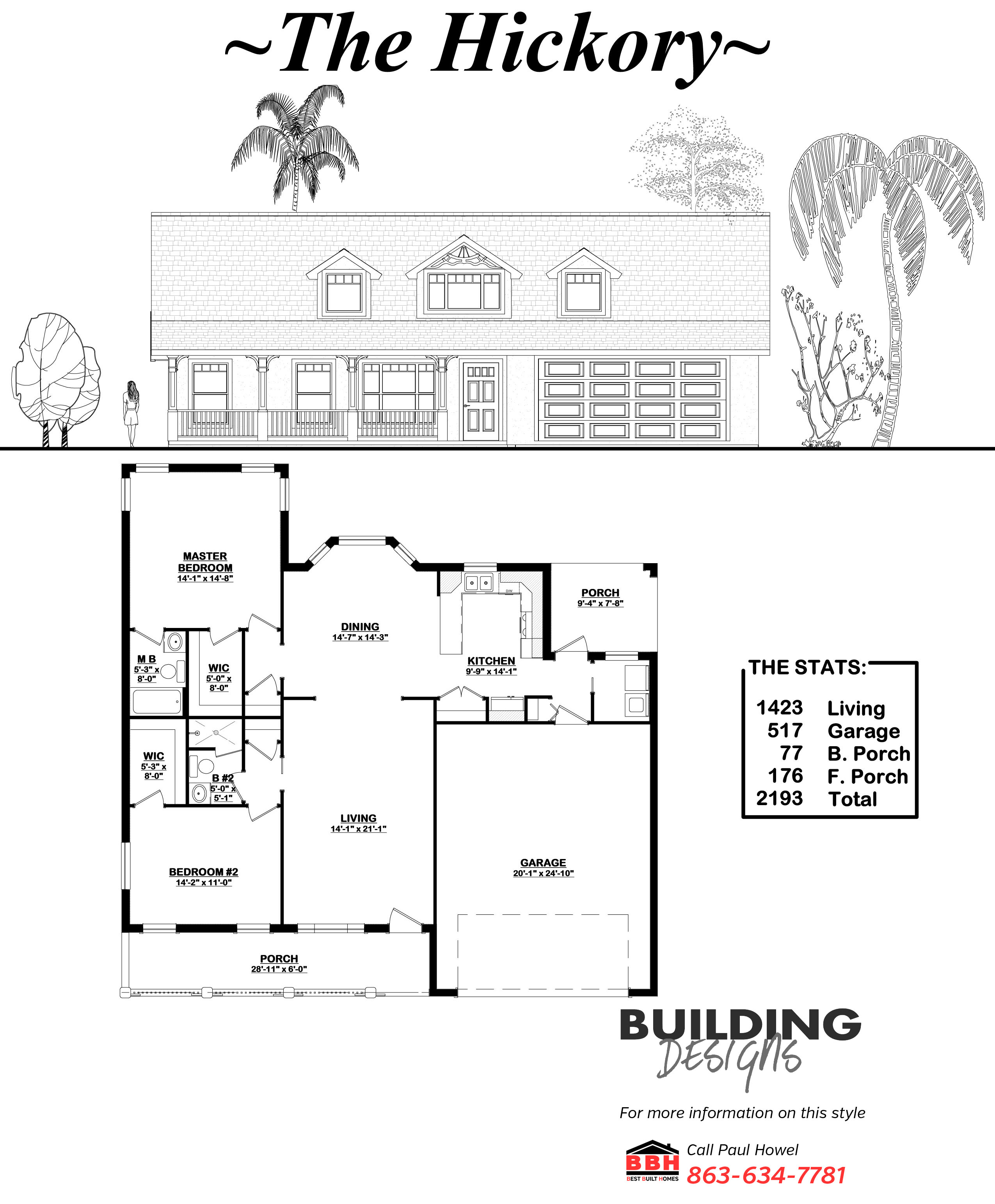 The Hickory Floor Plan