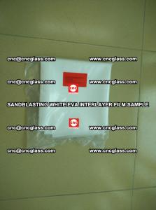 Sandblasting White EVA INTERLAYER FILM sample, EVAVISION (1)