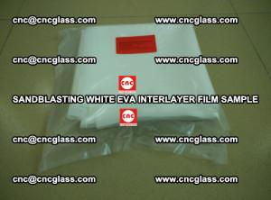 Sandblasting White EVA INTERLAYER FILM sample, EVAVISION (12)
