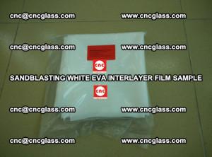 Sandblasting White EVA INTERLAYER FILM sample, EVAVISION (26)