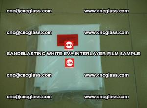 Sandblasting White EVA INTERLAYER FILM sample, EVAVISION (27)