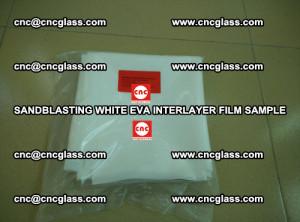 Sandblasting White EVA INTERLAYER FILM sample, EVAVISION (32)