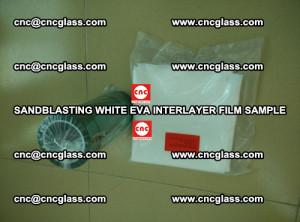 Sandblasting White EVA INTERLAYER FILM sample, EVAVISION (41)