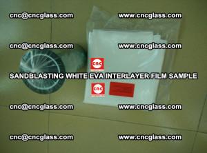 Sandblasting White EVA INTERLAYER FILM sample, EVAVISION (57)
