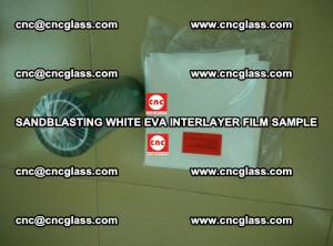 Sandblasting White EVA INTERLAYER FILM sample, EVAVISION (58)