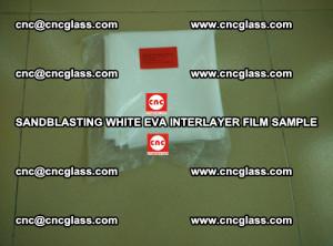 Sandblasting White EVA INTERLAYER FILM sample, EVAVISION (8)