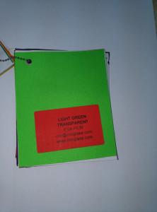 Light Green EVAVISION transparent EVA interlayer film for laminated safety glass (2)