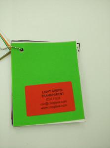 Light Green EVAVISION transparent EVA interlayer film for laminated safety glass (3)