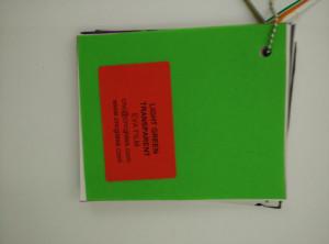 Light Green EVAVISION transparent EVA interlayer film for laminated safety glass (31)