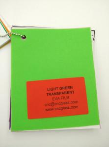Light Green EVAVISION transparent EVA interlayer film for laminated safety glass (44)