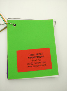 Light Green EVAVISION transparent EVA interlayer film for laminated safety glass (49)
